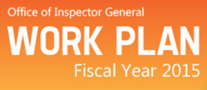 What's New In The OIG 2015 Work Plan?