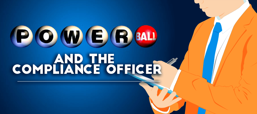powerball and the compliance officer